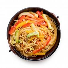 Сомен с овощами